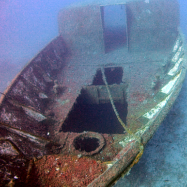 Shipwreck of the Liberty Wreck Cyprus