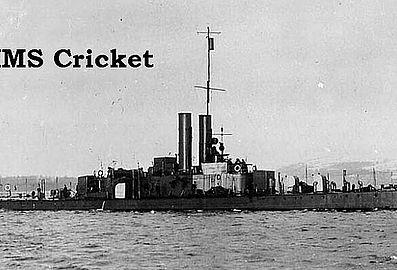 HMS Cricket wreck in Cyprus